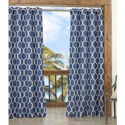 New! Parasol Totten Key Trellis Curtain Panel