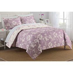 New! Marble Hill Bonita 3-pc. Reversible Comforter Set