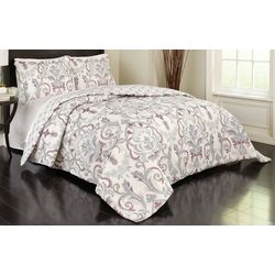 New! Marble Hill Royal Meadow 3-pc. Comforter Set
