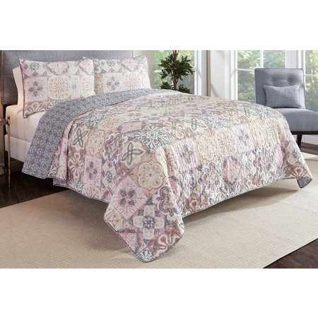 Marble Hill Torrey 3-pc. Reversible Quilt Set