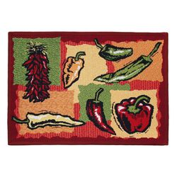 Park B. Smith Hot Peppers Tapestry Rug