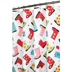 Park B. Smith WaterShed Rain Boots Shower Curtain