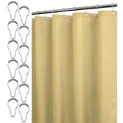 Park B. Smith Satin Stripe Shower Curtain &