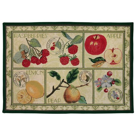 Park B. Smith Fruit Postage Tapestry Rug