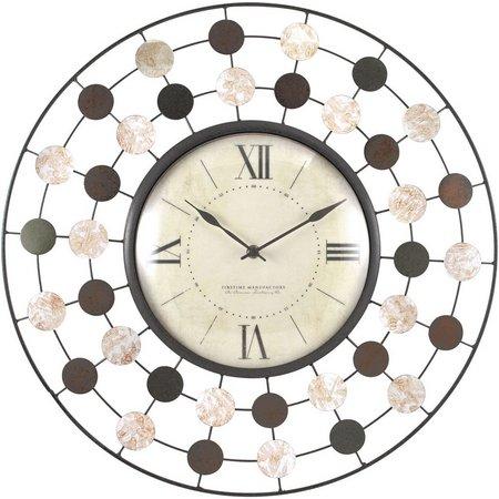 FirsTime 20'' Shasta Wire Wall Clock