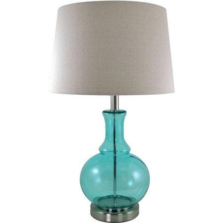 FirsTime Ellis Aqua Gourd Lamp