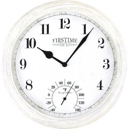 FirsTime 10.5'' Costa Outdoor Clock