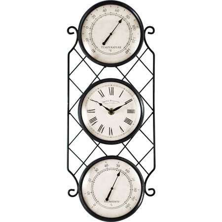 FirsTime 18'' Bronze Allegri Outdoor Clock