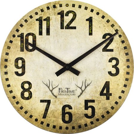 FirsTime 15.5'' Camo Restoration Wall Clock