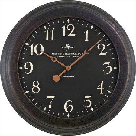Firstime 8 5 Black Onyx Wall Clock Bealls Florida