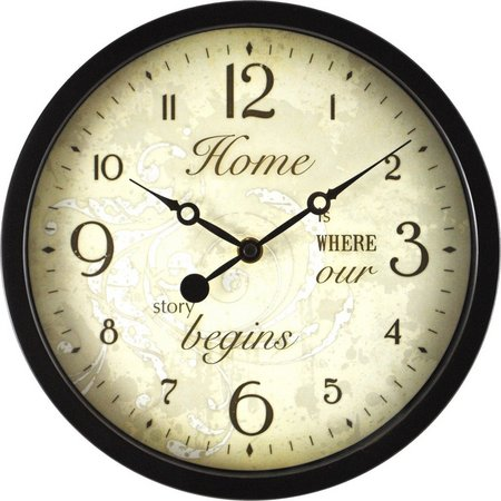 FirsTime 10'' Sentiments Wall Clock