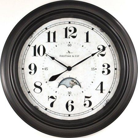 FirsTime 15.5'' Luna Wall Clock