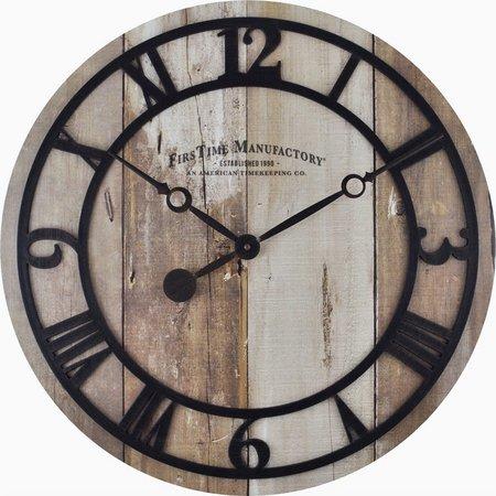 FirsTime 19'' Barnwood Clock
