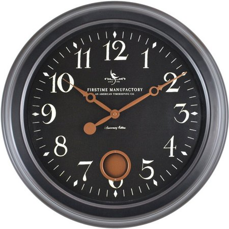 FirsTime 19'' Cream City Wall Clock