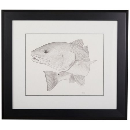 Linnea Szymanski \'Big Red\' Original Drawing Framed Art | Bealls Florida