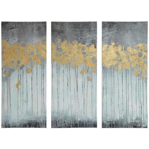 Madison Park Evening Forest Grey 3-pc. Canvas Wall Art | Bealls Florida