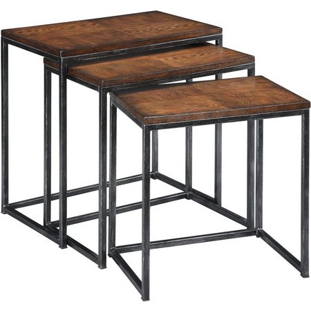 Coast to Coast Brown Cherry Nesting Tables
