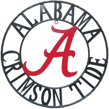 Alabama Crimson Tide 18'' Wrought Iron Wall Decor