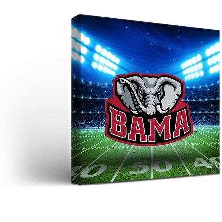 Alabama Stadium Design Canvas Wall Art