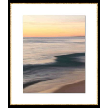 PTM Images Beach Movement I Framed Wall Art