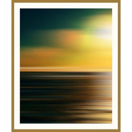 PTM Images Sunset Garden I Framed Wall Art