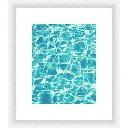 PTM Images Aquas III Framed Wall Art