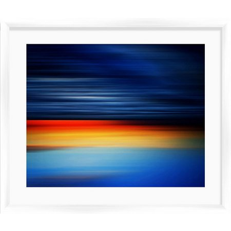 PTM Images Sea Waves II Framed Wall Art