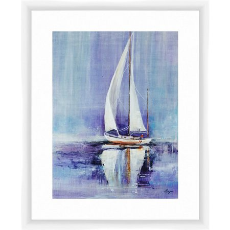 PTM Images Sailing by the Sea Framed Wall