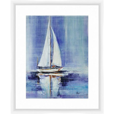 PTM Images Sailing by the Sea II Framed