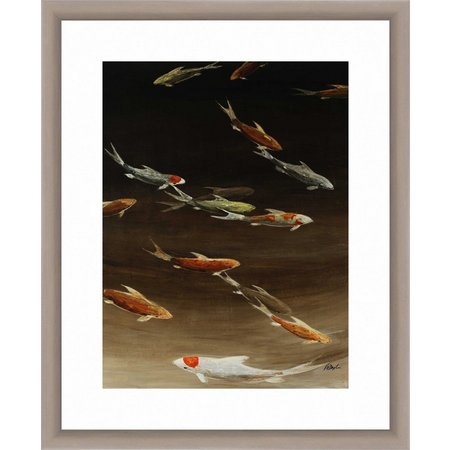 PTM Images School of Fish Framed Wall Art