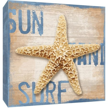 PTM Images Sun, Sand, Surf Canvas Wall Art