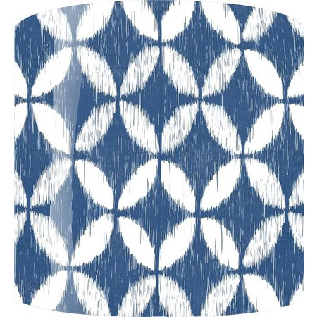 PTM Images Blue & White Circles Lamp Shade