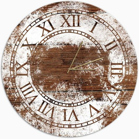 PTM Images Classic Paint Stains Clock
