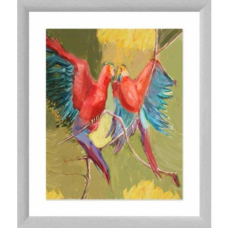 PTM Images Love Birds Framed Wall Art
