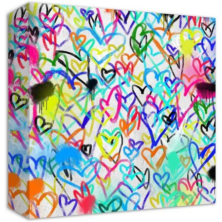 PTM Images Hearts Canvas Wall Art