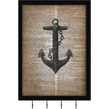 PTM Images Anchor Shadowbox With Hooks