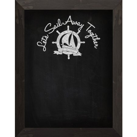 PTM Images Let's Sail Away Chalkboard
