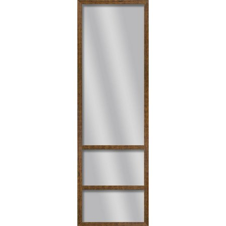 PTM Images Rustic Wood Shelve Mirror