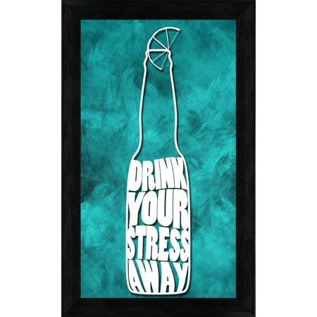 PTM Images Drink Your Stress Away Wall Art