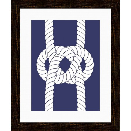 PTM Images Nautical Rope II Framed Wall Art