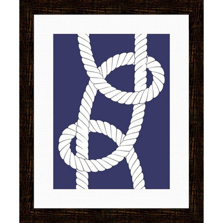 PTM Images Nautical Rope III Framed Wall Art