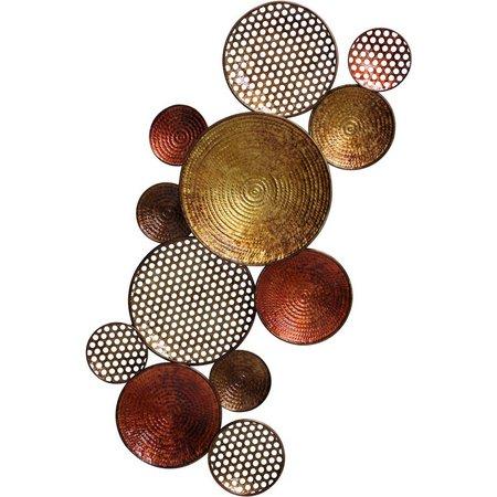 StyleCraft Copper & Bronze Circles Metal Wall Art | Bealls Florida