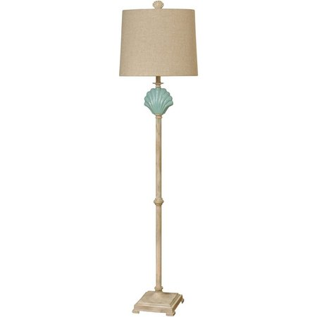 StyleCraft Gili Beach Clamshell Floor Lamp
