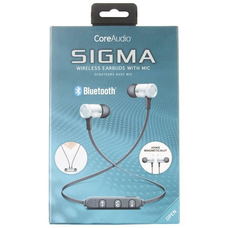 iWorld CoreAudio Sigma Wiresless Earbuds With Mic