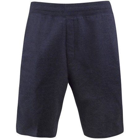 Free Country Mens Heather Fleece Lounge Shorts