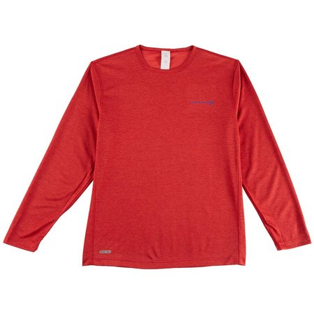 Free Country Mens Henley Long Sleeve T-Shirt