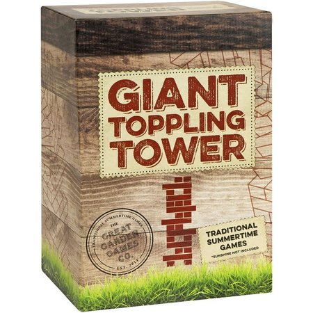 Professor Puzzle Giant Toppling Tower