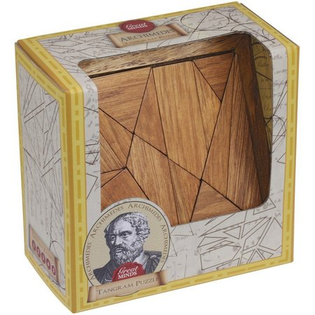 Professor Puzzle Great Minds Archimedes' Tangram Puzzle