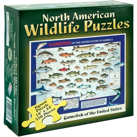 Channel Craft American Gamefish Jigsaw Puzzle