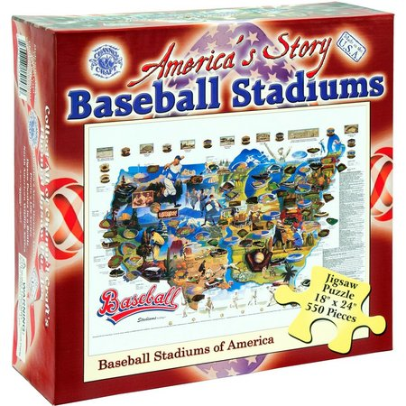 Channel Craft America's Baseball Jigsaw Puzzle
